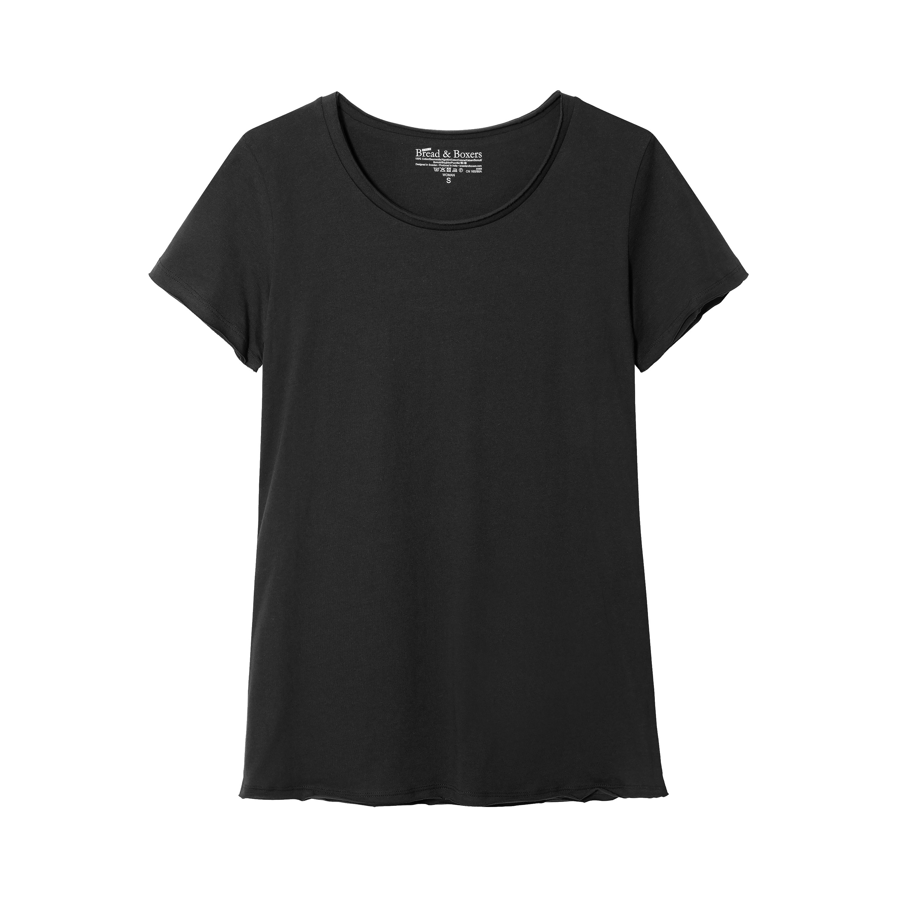 W_Crew-Neck_Relaxed_Black_F (w)